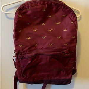 Hollister Backpack.